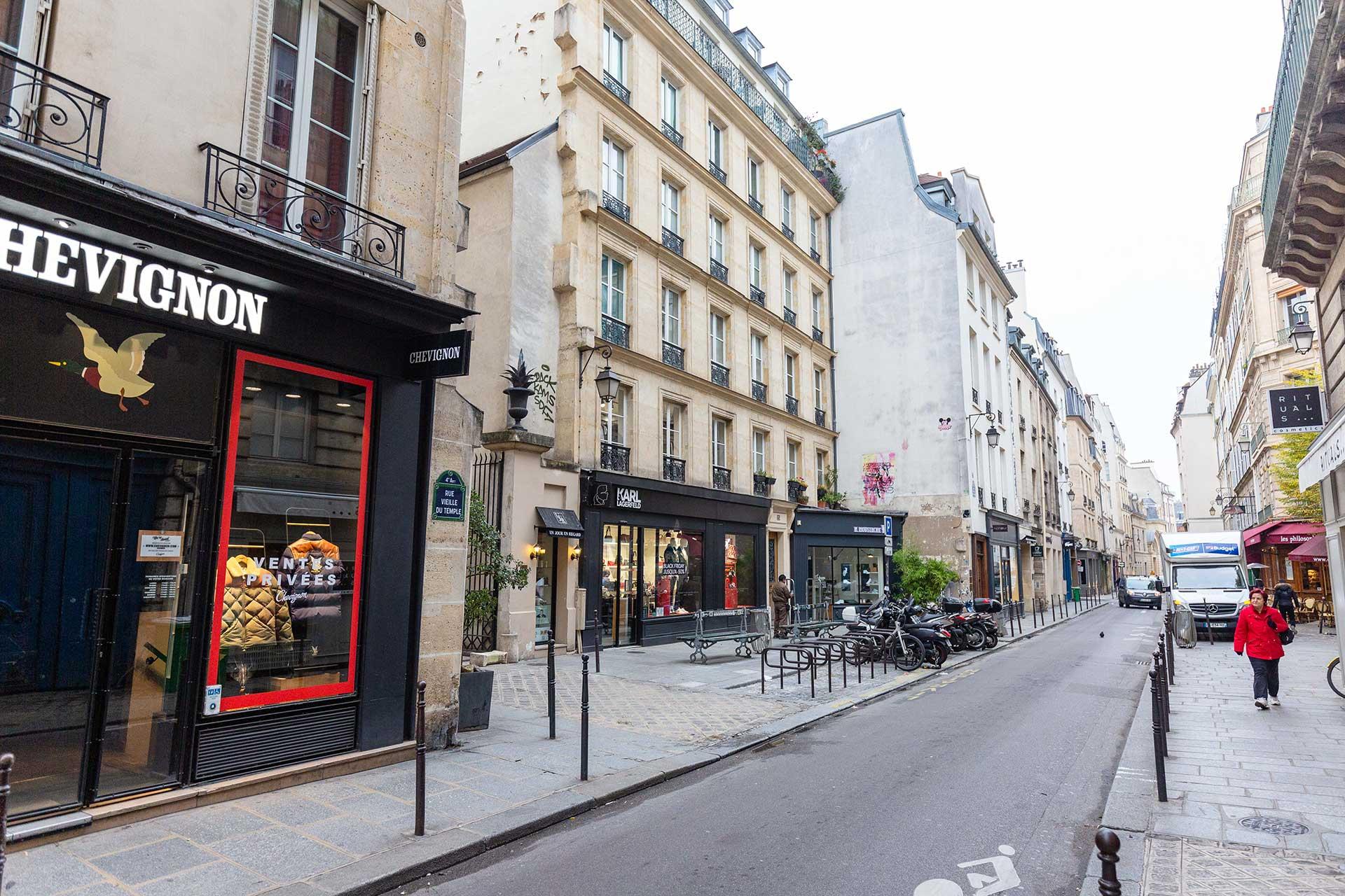 25 Rue Vieille du Temple 75004 Paris
